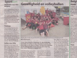 GGV in de media: Witte Weekblad