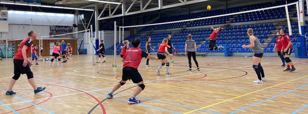 Start volleybal seizoen '21-'22